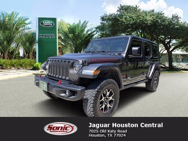 Used 2018 Jeep Wrangler Rubicon SUV for sale in Houston