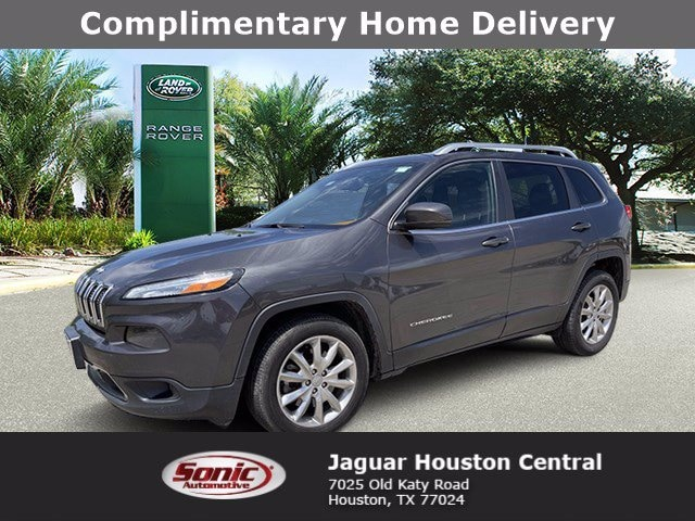 Used 2016 Jeep Cherokee Limited SUV for sale in Houston