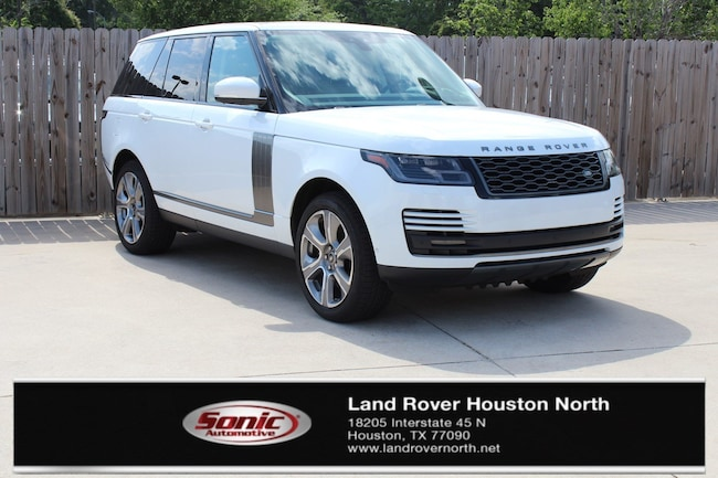 New 2019 Land Rover Range Rover 3.0L V6 Supercharged HSE SUV for sale in North Houston