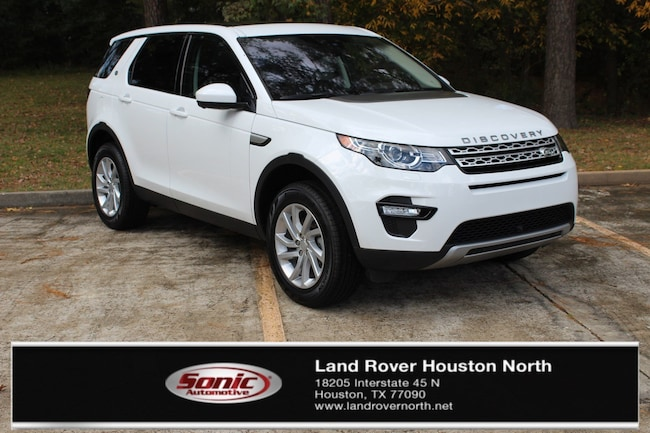 New 2019 Land Rover Discovery Sport HSE SUV for sale in North Houston