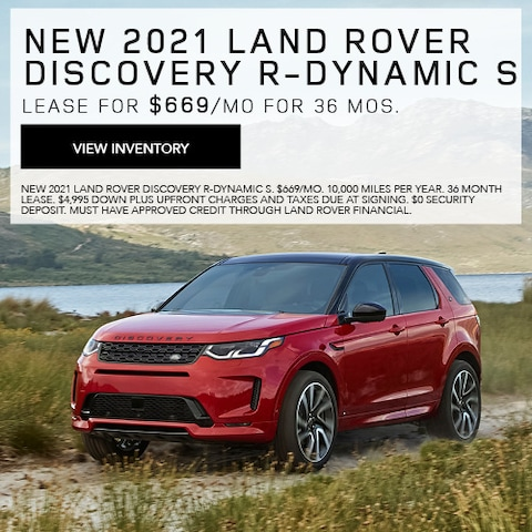 New 2021 Land Rover Discovery R-Dynamic S