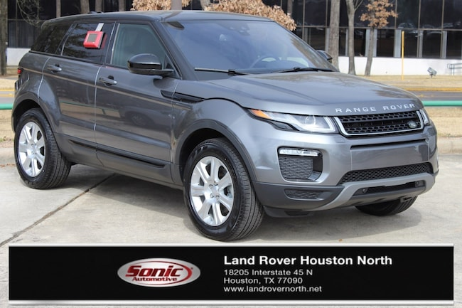 Land Rover Evoque >> New 2018 Land Rover Range Rover Evoque For Sale In Houston Tx Stock Jh267605