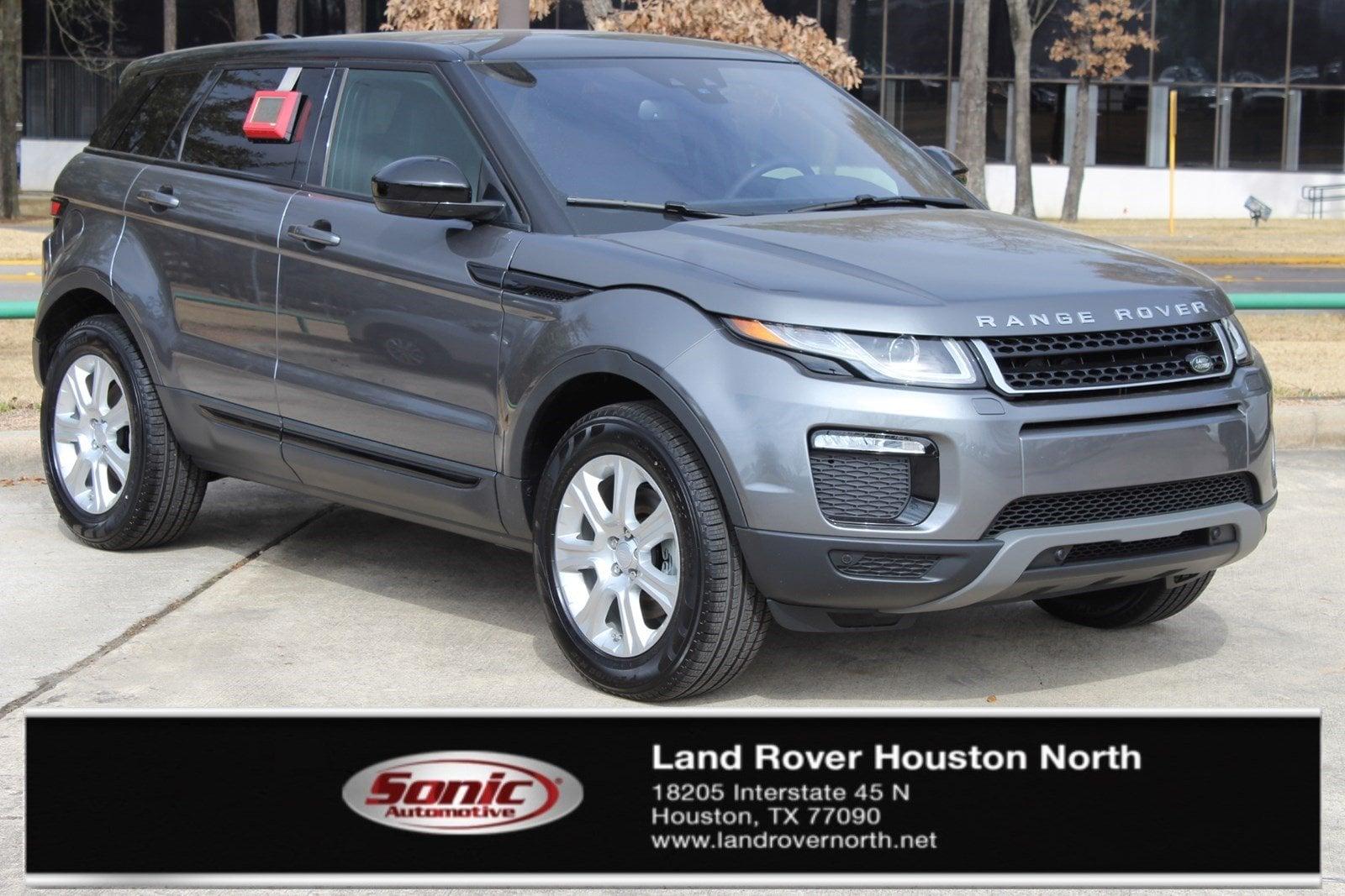 New 2018 Land Rover Range Rover Evoque SE SUV For Sale In North Houston