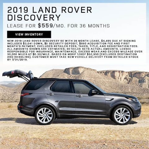 2019 Land Rover Discovery - Lease