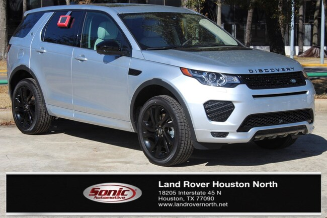 New 2018 Land Rover Discovery Sport HSE 286hp SUV for sale in North Houston