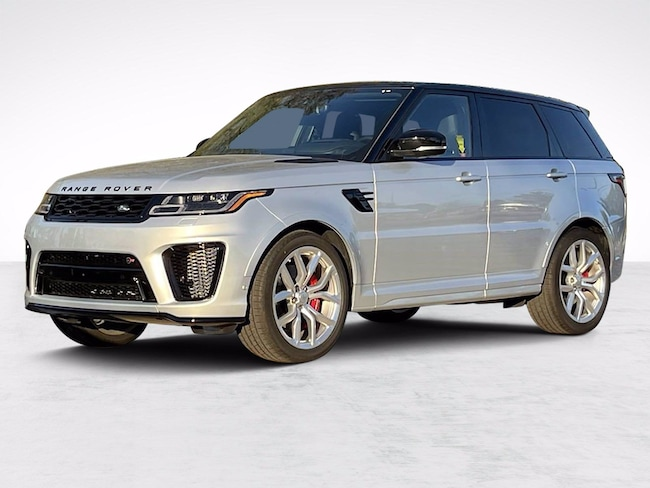 New 2021 Land Rover Range Rover Sport SVR SUV for sale in North Houston