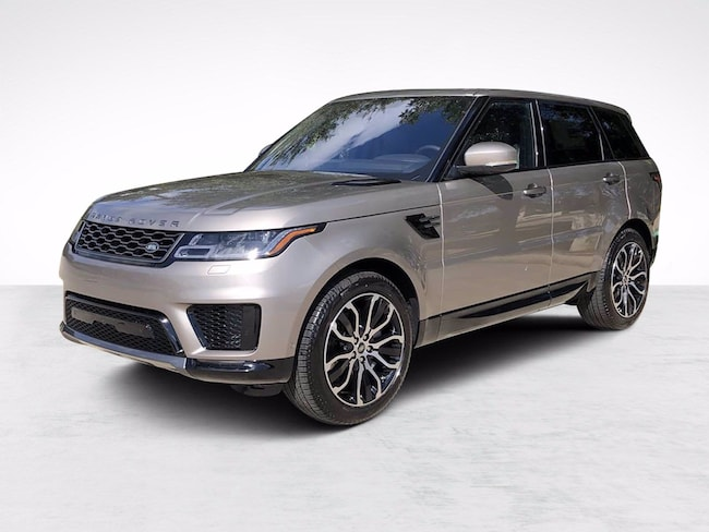 New 2021 Land Rover Range Rover Sport HSE Silver Edition MHEV SUV for sale in North Houston
