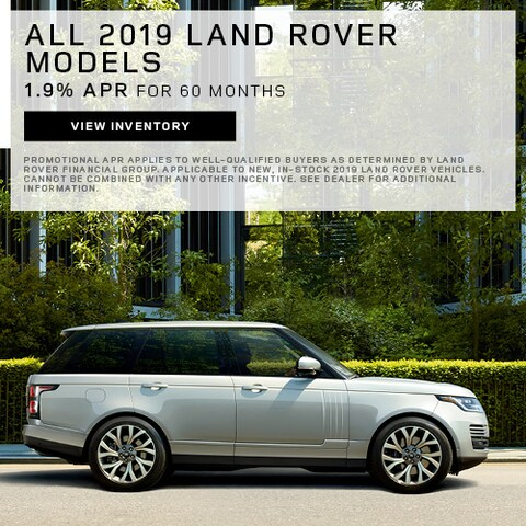 All 2019 Land Rover Models - APR