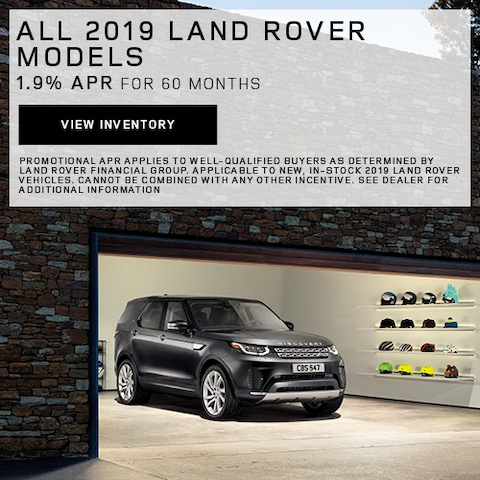 All 2019 Land Rover Models