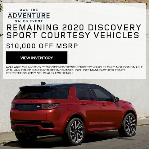 Remaining 2020 Discovery Sport Courtesy Vehicles