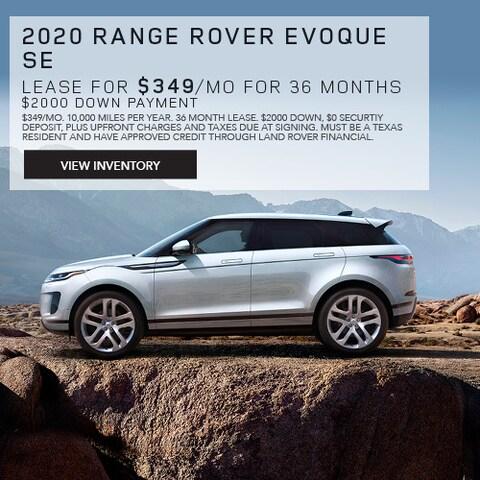 2020 Land Rover Evoque SE