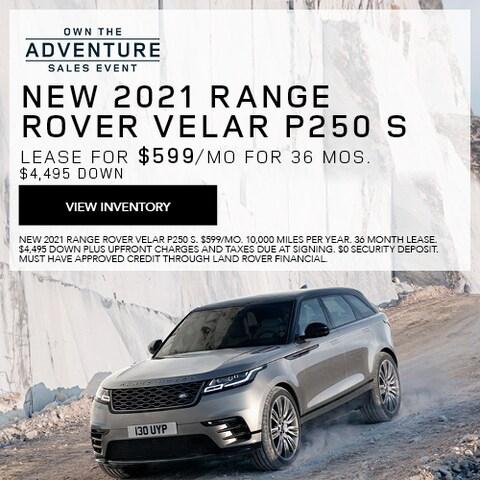 New 2021 Range Rover Velar P250 S