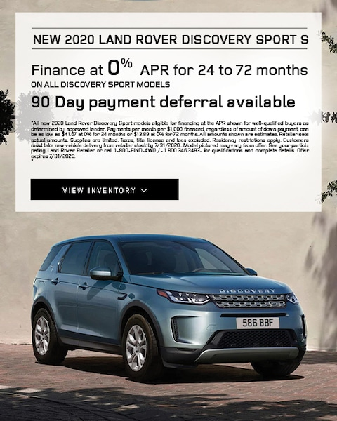 2020 Land Rover Discovery Sport Lease Specials