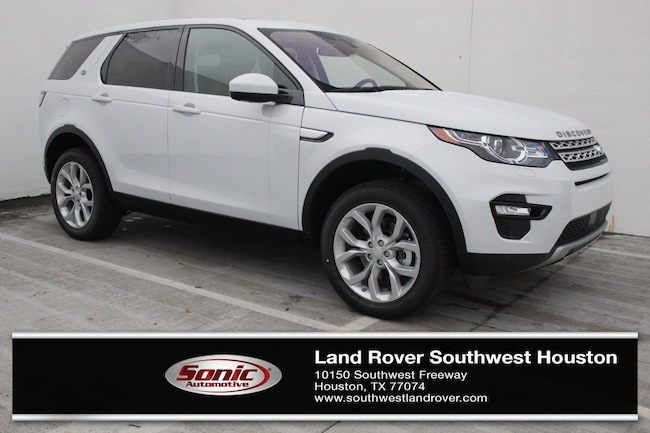 New 2019 Land Rover Discovery Sport SUV for sale in Houston, TX