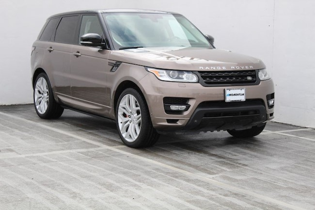 Certified Pre-Owned 2015 Land Rover Range Rover Sport Autobiography 4WD 4dr for sale in Houston, TX