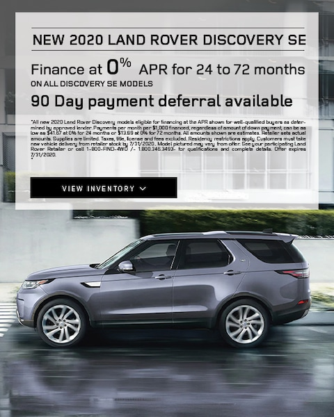2020 Land Rover Discovery Lease Specials