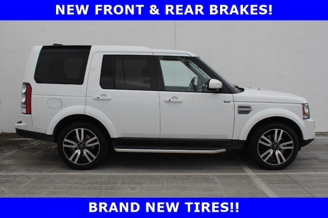 Used 2016 Land Rover LR4 HSE LUX 4WD 4dr  *Ltd Avail* in Houston