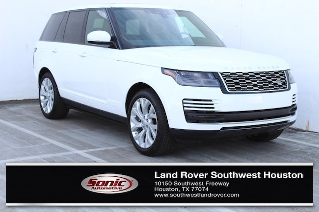 New 2019 Land Rover Range Rover 3.0L V6 Supercharged HSE SUV for sale in Houston, TX