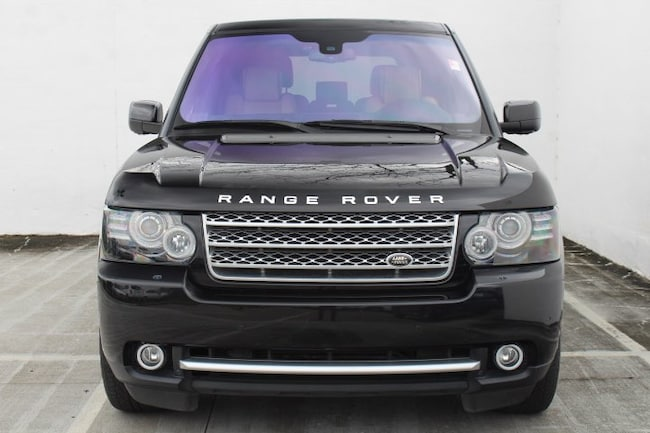 Used 2012 Land Rover Range Rover SC 4WD 4dr for sale in Houston, TX