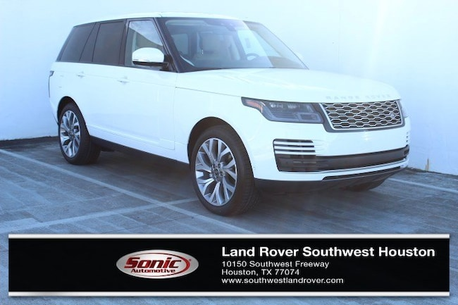 New 2019 Land Rover Range Rover 3.0L V6 Turbocharged Diesel HSE Td6 SUV for sale in Houston, TX