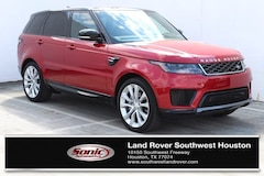 New 2019 Land Rover Range Rover Sport HSE SUV for sale in Houston, TX