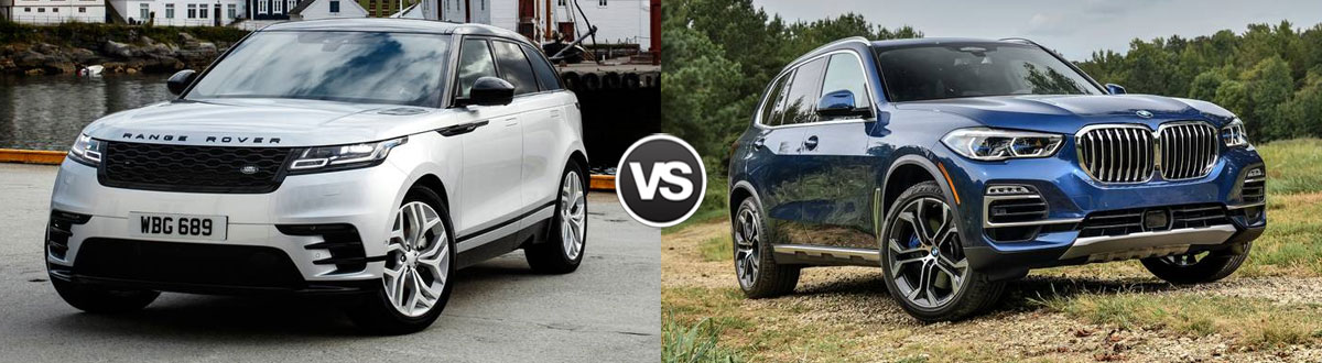 Compare 2019 Range Rover Velar Vs 2019 Bmw X5 Houston Tx