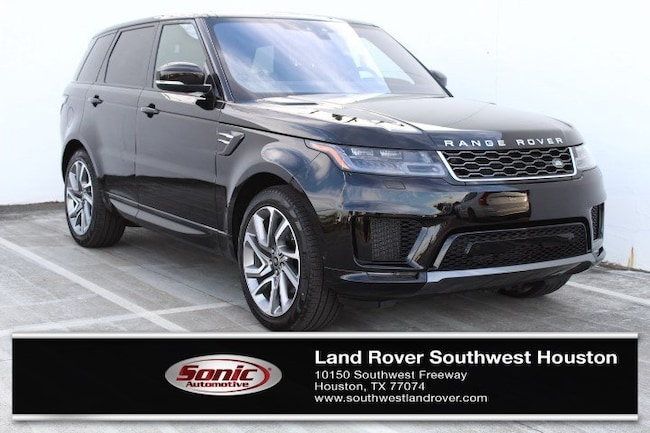 New 2019 Land Rover Range Rover Sport HSE Td6 SUV for sale in Houston, TX