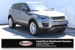 New 2018 Land Rover Range Rover Evoque SE SUV for sale in Houston, TX