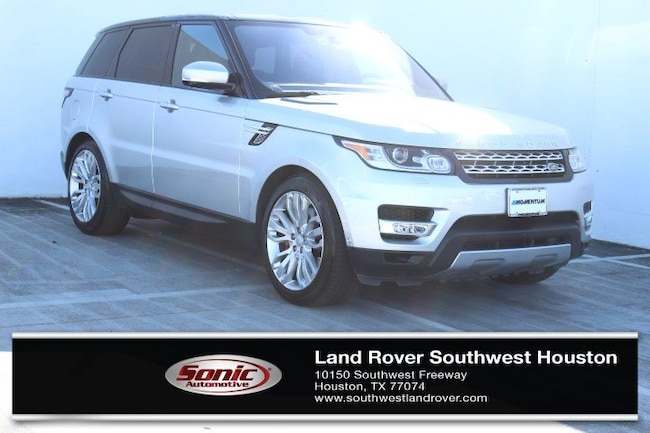 Used 2016 Land Rover Range Rover Sport V8 4WD 4dr MP for sale in Houston, TX
