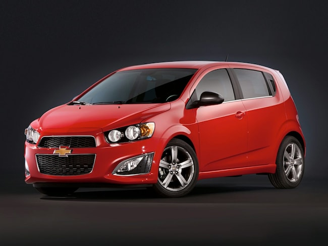 2014 Chevrolet Sonic RS Auto Hatchback