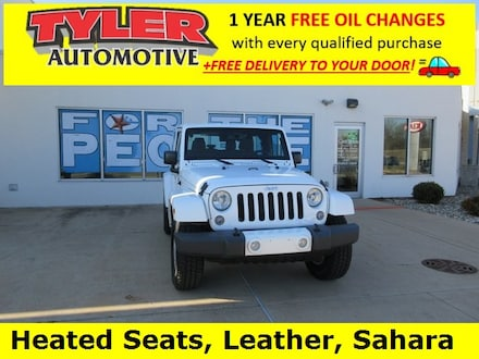 Featured used 2015 Jeep Wrangler Sahara SUV for sale in Niles, MI
