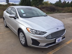 New 2019 Ford Fusion S Sedan KR103337 in Tyler, TX
