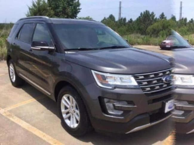 Certified 2017 Ford Explorer XLT SUV in Tyler, TX