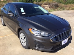 New 2019 Ford Fusion S Sedan KR113822 in Tyler, TX