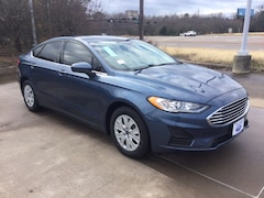 New 2019 Ford Fusion S Sedan KR113821 in Tyler, TX