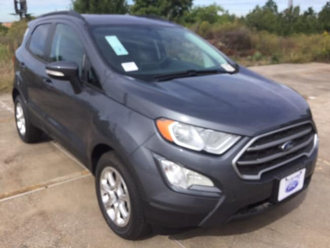 New 2018 Ford EcoSport SE Crossover in Tyler, TX