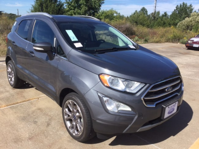 New 2018 Ford EcoSport Titanium Crossover in Tyler, TX