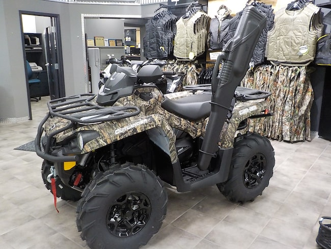 2018 CAN-AM Outlander 450 DPS MOAK MOSSY