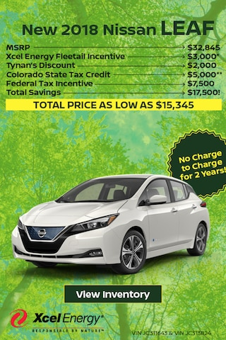 New 2018 Nissan LEAF Special