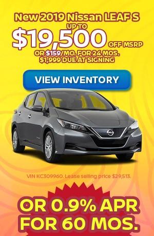 June | New 2019 Nissan LEAF