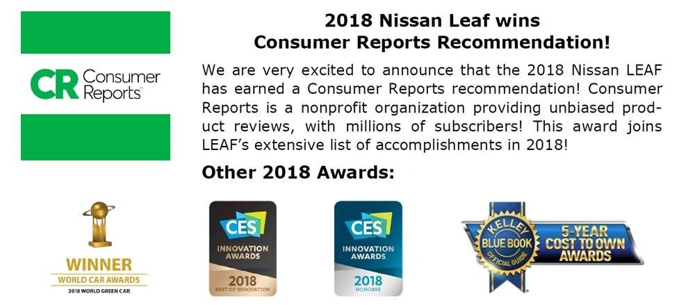 Meet The 2018 Nissan LEAF ...