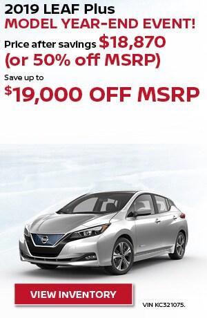 New 2019 Nissan LEAF