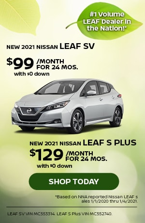 New 2021 Nissan LEAF