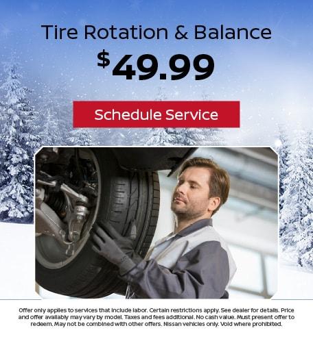 Tire Rotation & Balance