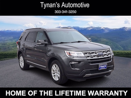 Pre-Owned 2018 Ford Explorer XLT SUV for sale in Aurora, CO