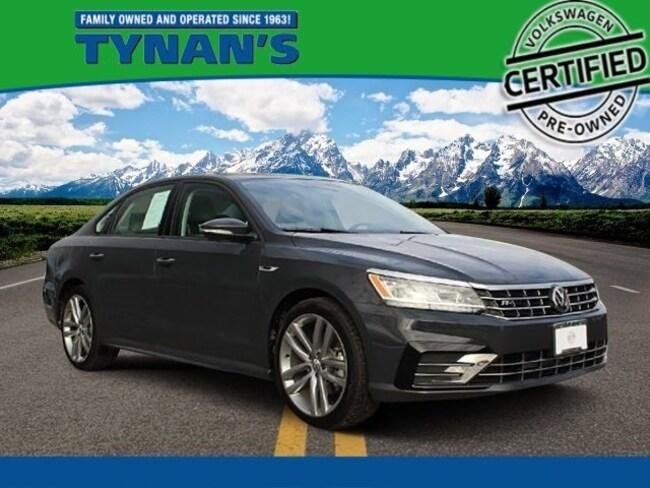 Certified Pre-Owned 2018 Volkswagen Passat 2.0T R-Line Sedan for sale in Aurora, CO