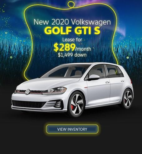 New 2020 Golf GTI