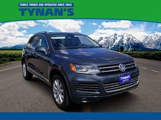 Used 2012 Volkswagen Touareg V6 TDI SUV for sale in Aurora, CO