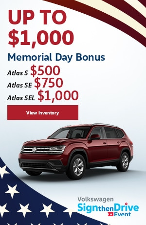 May | 2019 Atlas Memorial Day Bonus