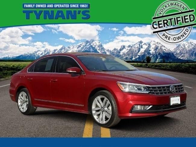 Certified Pre-Owned 2017 Volkswagen Passat V6 SEL Premium Sedan for sale in Aurora, CO